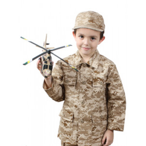Desert Digital Camouflage Kids Military BDU Shirt