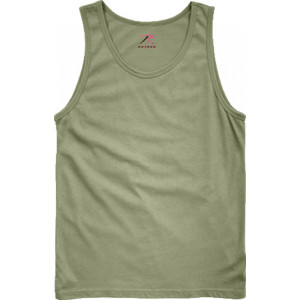 Olive Drab Military Tank Top