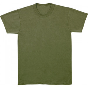 Olive Drab Kids Military Tactical T-Shirt