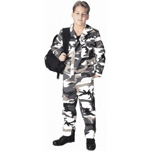 City Camouflage BDU Pants (Kids)