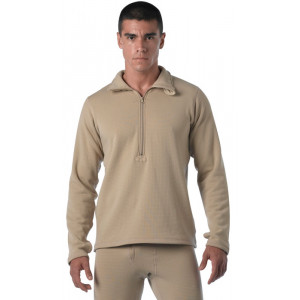 Desert Sand Military Generation III Level II Mid-Weight Thermal Shirt