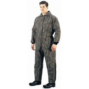 Smokey Branch Camouflage Cold Weather Insulated Coverall Jumpsuit