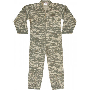 Kids ACU Digital Camouflage US Air Force Military Costume Flight Suit