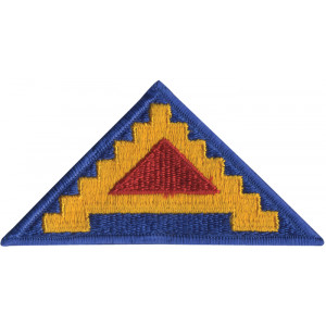 US Army 7th Army Seven Steps To Hell Color Patch