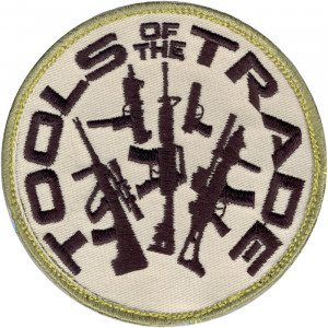 Tools Of The Trade Patch With Hook Back