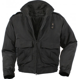 Black Military Water Repellent Tactical Heavy Duty Jacket