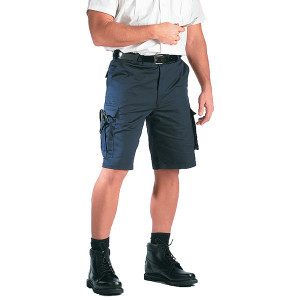 Navy Blue Tactical 7 Pocket EMT EMS Cargo Shorts