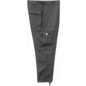 Black Tactical 9 Pocket EMS EMT Pants a46d505ef