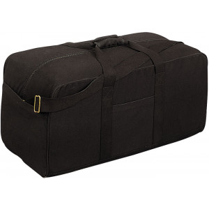Black Tactical Military Assault Water Resistant Cargo Bag