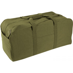 Olive Drab Military Assault Jumbo Cargo Bag