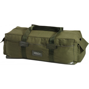 Olive Drab Israeli IDF Tactical Canvas Duffle Carry Bag