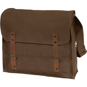 Brown Vintage Military Canvas Medic Shoulder Bag