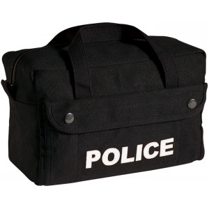 Black Small Police Tactical Equipment Gear Tool Bag