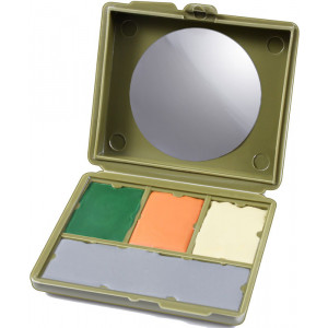 Camouflage 4 Color Compact Face Paint