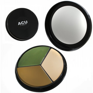 ACU Camouflage Compact Face Paint - 3 Colors