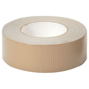 "Tan 100 MPH Military Duct Tape (2"" x 60 Yards)"