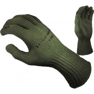 Olive Drab Manzella USMC TS-40 Genuine Military Gloves