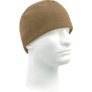Coyote Tan Army Polar Fleece Beanie Watch Cap