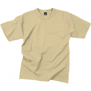 Desert Sand Moisture Wicking Genuine GI Solid Military T-Shirt