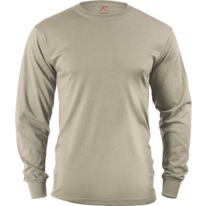 Desert Sand Tactical Long Sleeve Military T-Shirt