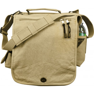 Khaki Vintage M-51 Engineers Military Field Journey Bag
