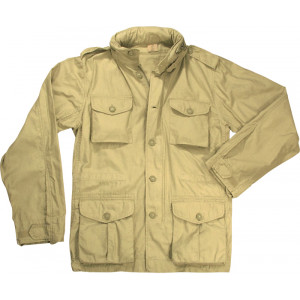 Khaki Vintage Military Tactical Lightweight M-65 Field Jacket