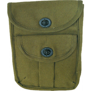 Olive Drab 2-Pocket Military Ammo Pouch