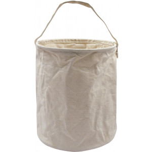 "Khaki Natural Canvas Water Bucket (10"" x 9"")"