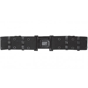 Black Quick Release Nylon Pistol Belt