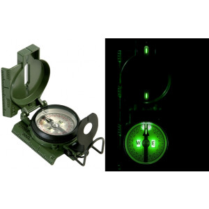 Olive Drab Compass GI Special Lensatic Tritium (3HJP)