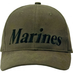 Olive Drab Military Marines Supreme Low Profile Adjustable Cap
