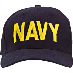 Navy Blue Military Navy Supreme Low Profile Adjustable Cap
