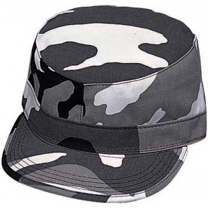 City Camouflage Military Patrol Fatigue Cap