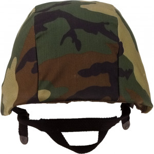 Woodland Camouflage Military Combat Helmet Cover