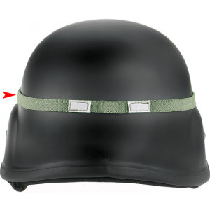 Foliage Green Cat Eyes Reflective Helmet Band Safety Band