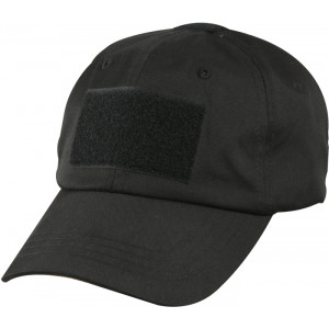 Black Military Low Profile Baseball Hat Tactical Operator Cap