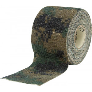McNett Woodland Digital Camouflage Self-Cling Form Tape