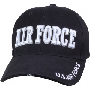 Navy Blue Military US Air Force Deluxe Low Profile Adjustable Cap