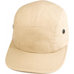 Khaki Military Rip-Stop Street Adjustable Hat Urban Cap