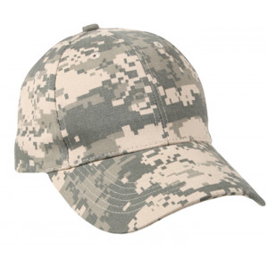 ACU Digital Camouflage Kids Low Profile Baseball Cap