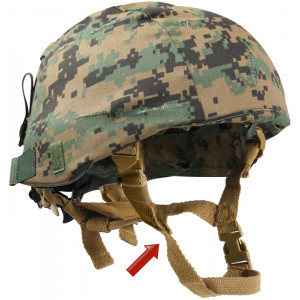 Coyote Brown Military MICH Tactical Helmet Chin Strap