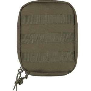 Olive Drab MOLLE Tactical Trauma & First Aid Kit Pouch