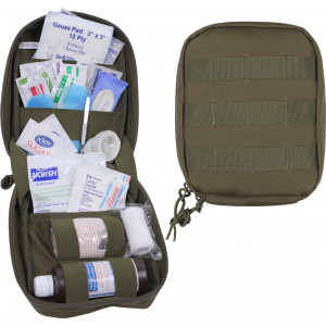 Olive Drab MOLLE Tactical First Aid Kit