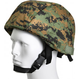 Woodland Digital Camouflage Military Rip-Stop MICH Tactical Helmet Cover
