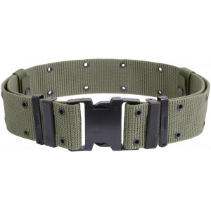 Foliage Green Marine Corps Style Quick Release Pistol Belt