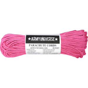 Neon Pink 550LB Type III Nylon Paracord Rope 50 Feet