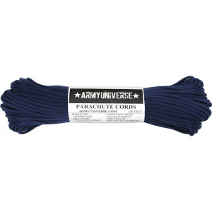 Navy Midnight Blue 550LB Type III Nylon Paracord Rope 100 Feet