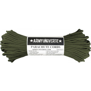 Olive Drab 550LB Type III Nylon Paracord Rope 100 Feet