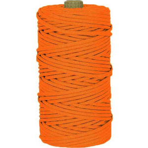 Neon Orange 550LB Type III Nylon Paracord Rope Tube 300 Feet