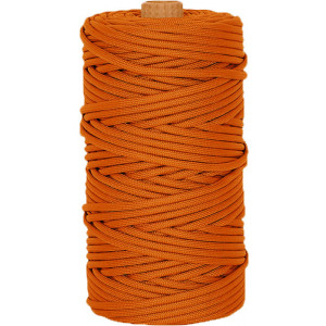 Orange 550LB Type III Nylon Paracord Rope Tube 300 Feet
